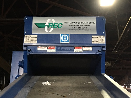 5387 20 Balemaster Shredder