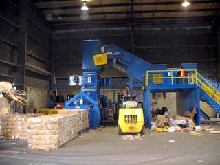 Baler_Feed_conveyor_with_Sorting_Station