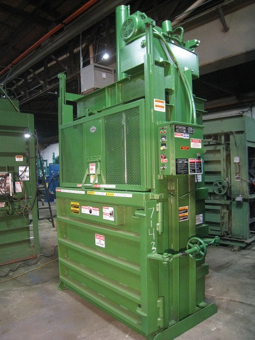 7143 Used Load King Model 1003910 Hd 6030 B Vertical Baler