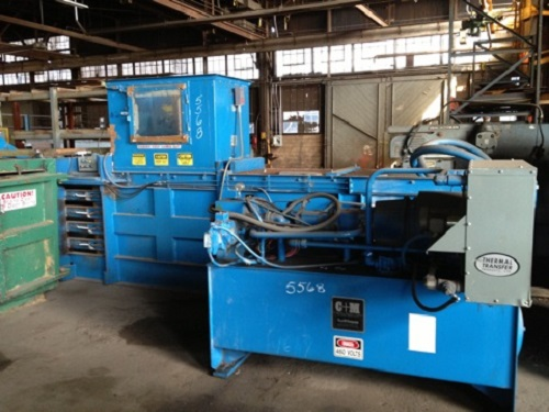 5568 C and M 5030E48 Open End Baler