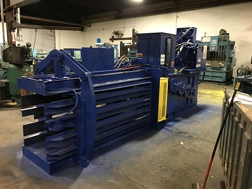 Baler Wire Tie System : Reconditioned american baler pac horizontal