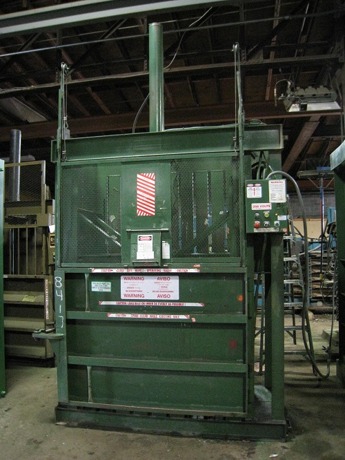 8417 1 AEP 60X30 Vertical Downstroke Baler