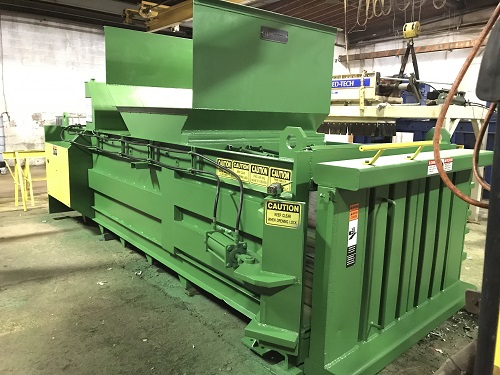 8437 10 Maren F66 4PS Full Eject Closed End Baler