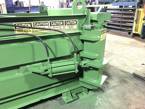 8437 12 Maren F66 4PS Full Eject Closed End Baler