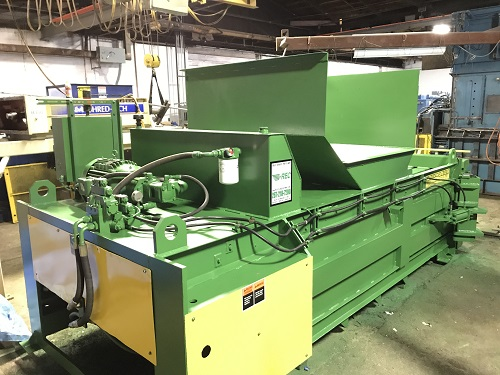 8437 8 Maren F66 4PS Full Eject Closed End Baler