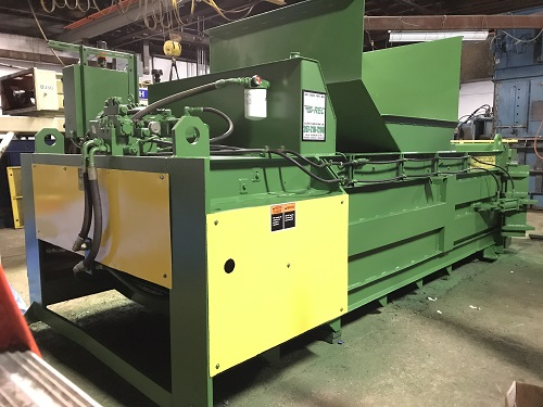 8437 9 Maren F66 4PS Full Eject Closed End Baler