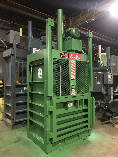 8855 6 PTR 1800 Vertical Downstroke Baler