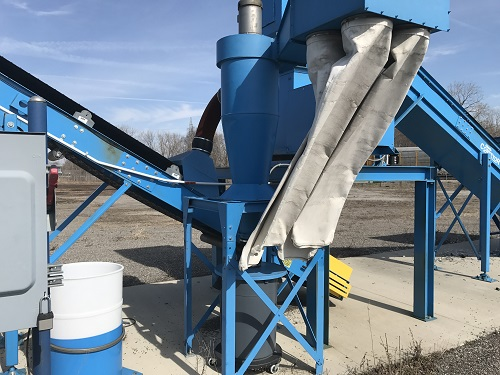 9031C 3 Andela Glass Crusher System