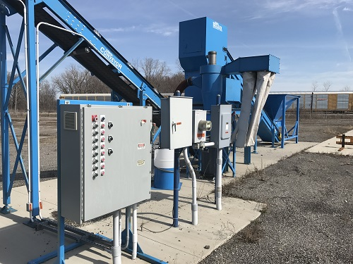 9031C 5 Andela Glass Crusher System