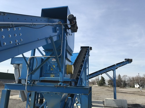 9031C 7 Andela Glass Crusher System