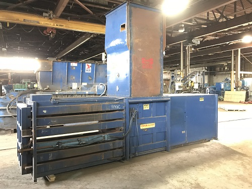 9198C 5 Cram a Lot 72HORIZ Closed End Manual Tie Horizontal Baler