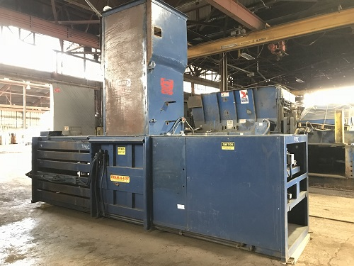 9198C 6 Cram a Lot 72HORIZ Closed End Manual Tie Horizontal Baler