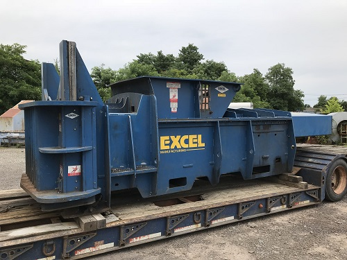 9203 1 Excel HV 10 Horizontal Manual Tie Closed End Baler