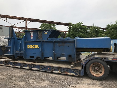 9203 2 Excel HV 10 Horizontal Manual Tie Closed End Baler