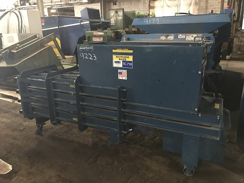 9223 1 TSI TC710 Closed End Horizontal Baler