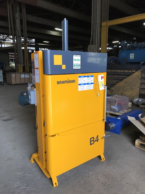 8750 1 Bramidan B4 Vertical Downstroke Baler