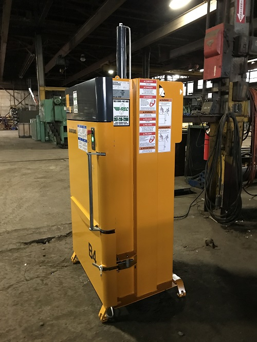 8750 4 Bramidan B4 Vertical Downstroke Baler
