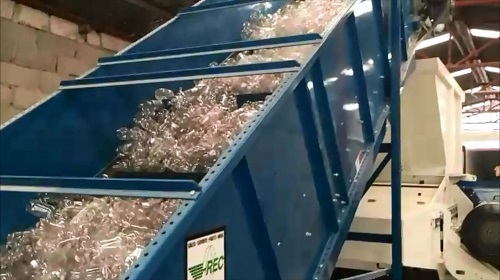 1 Shredder Feed Conveyor