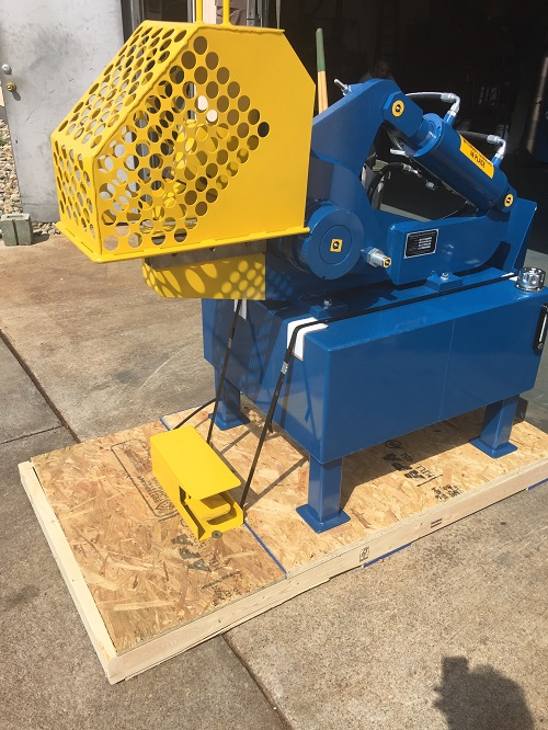 12 Inch Industrial Hydraulic Shear 1