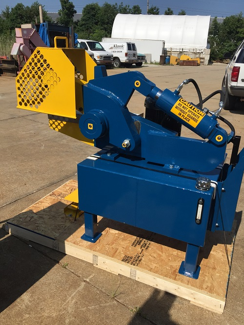 12 Inch Industrial Hydraulic Shear 2