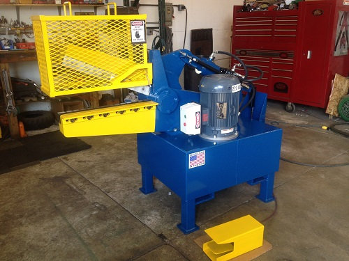 25 Inch Industrial Hydraulic Shear 1