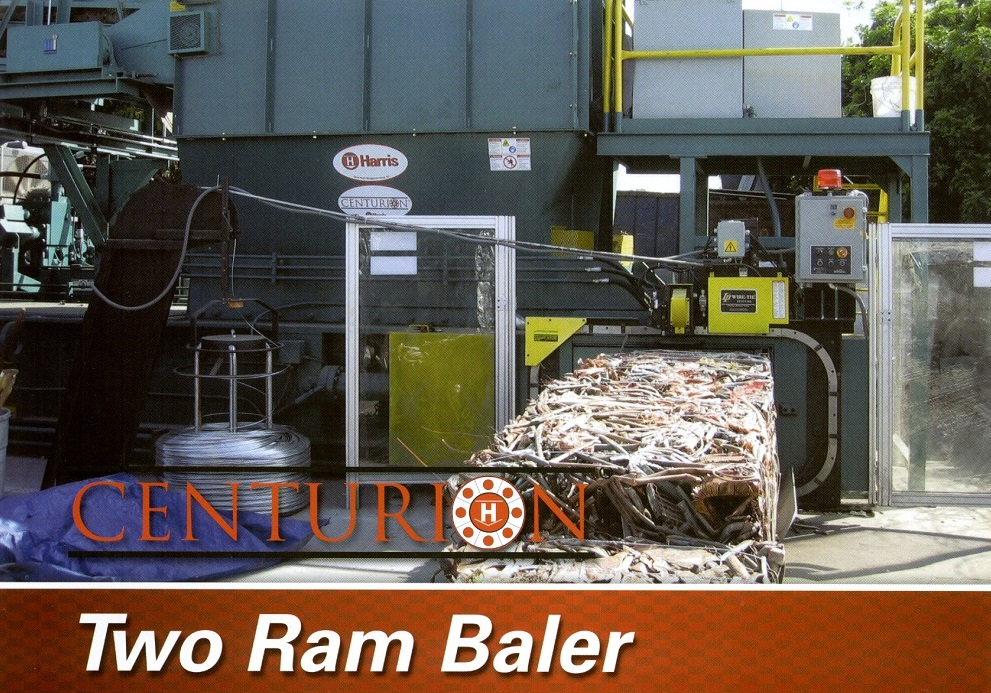 New Harris Centurion Two Ram Baler on