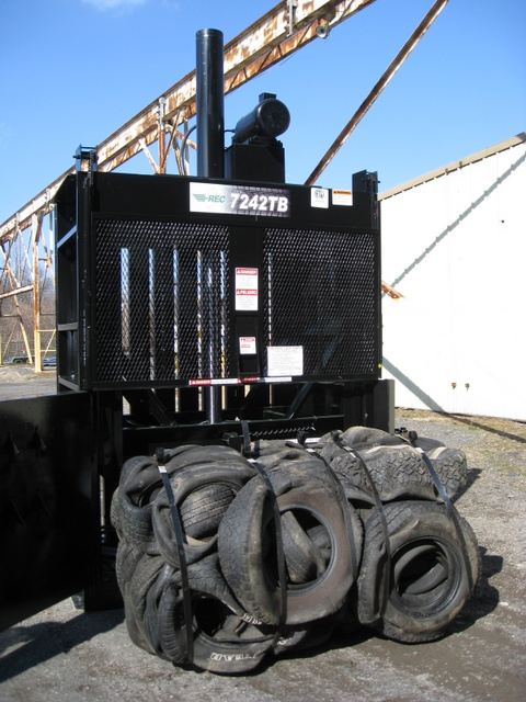 Tire recycling for Tractor tire recycling