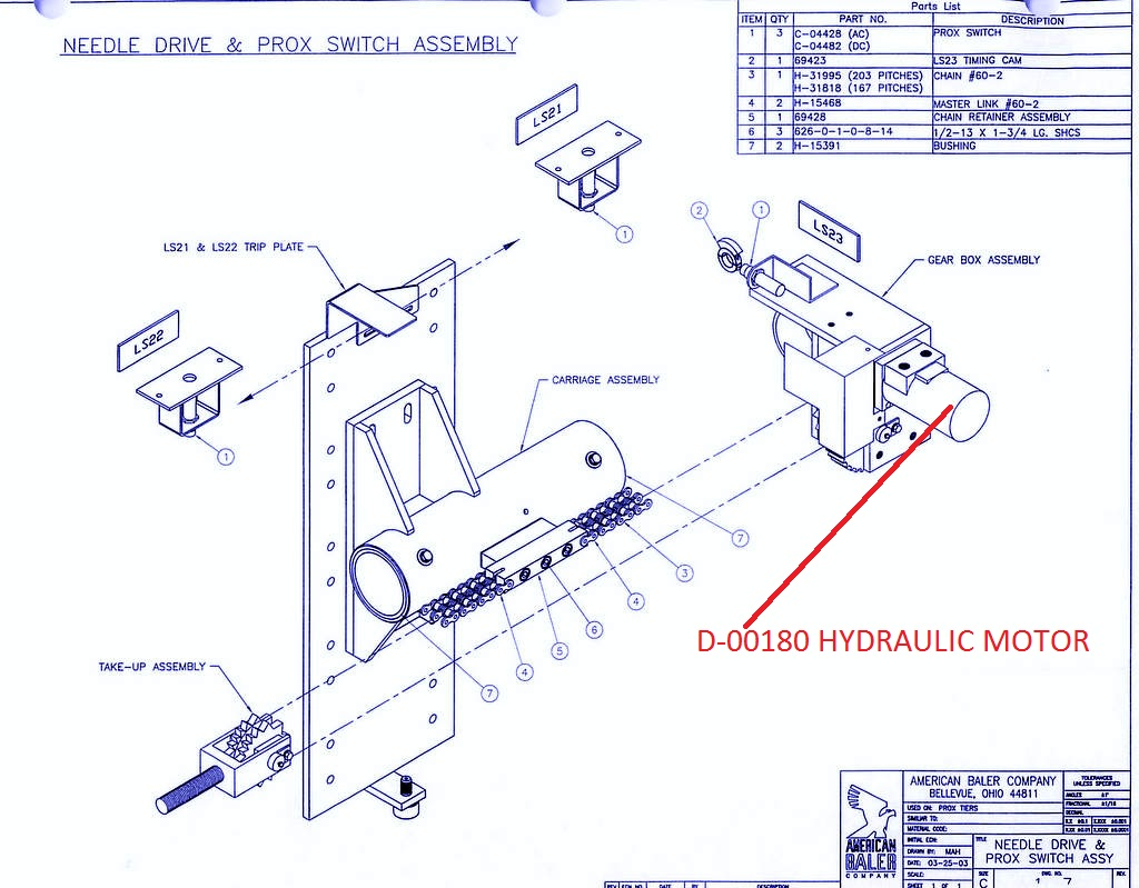 Take-Up Assembly Page 2-0012