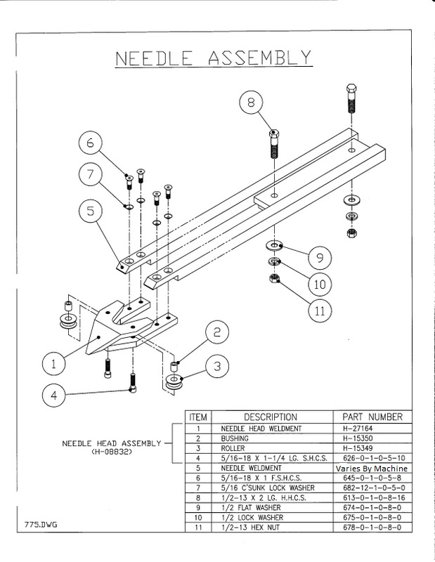 mechanical 645 1 5 8 needle head bolt Bodkin Head needlegjygjgh