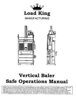 page1lk1 baler and shredder operators manuals piqua baler wiring diagram at eliteediting.co