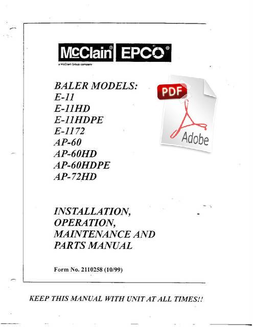 equipment manuals lnr dc11m d5d6 manualjpg awesome innovative