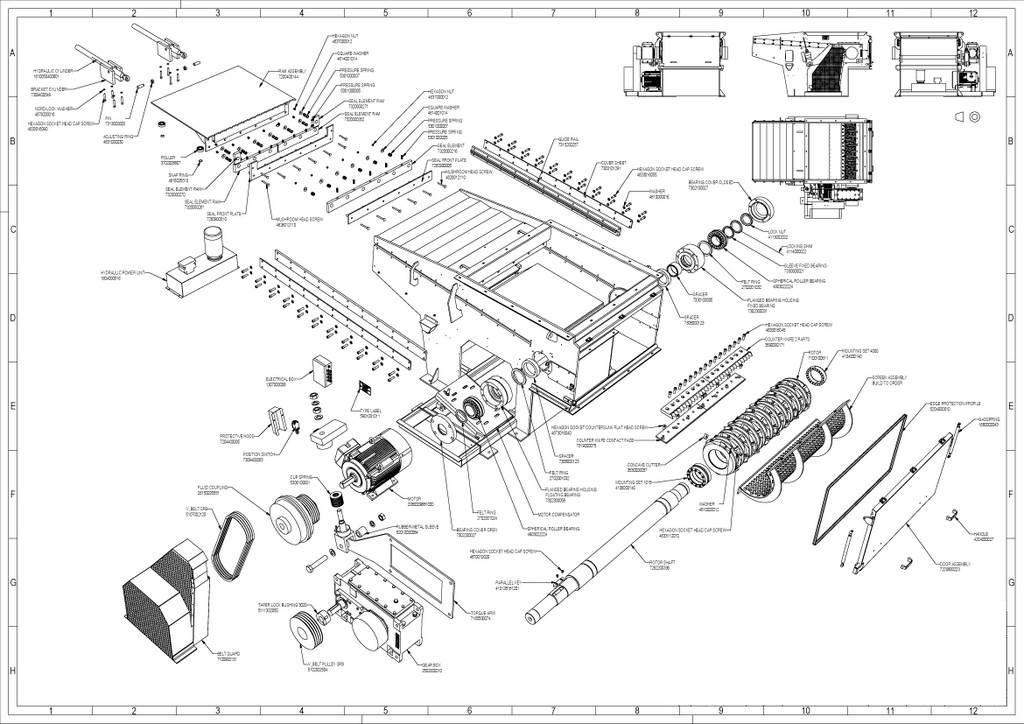mechanical   vecoplan parts 267