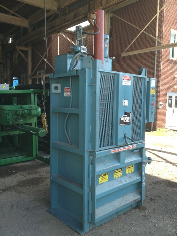 Cardboard Baling Wire : Marathon cardboard baler as is priced to move just